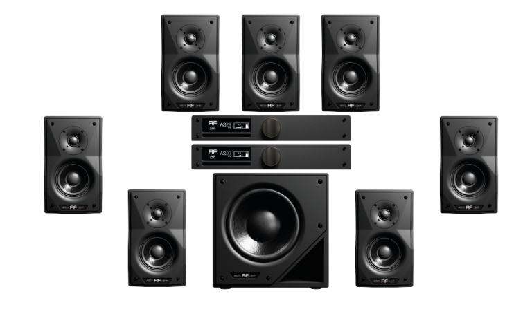 sistema as29 studio monitor 5.1