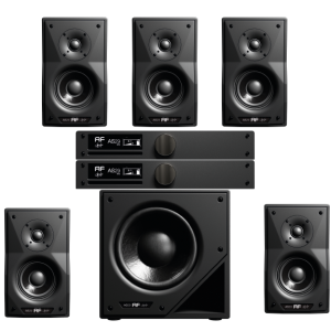 as29 studio monitor conffirguazione 5.1