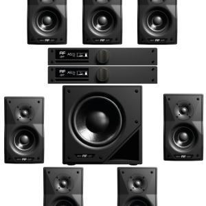 as29 studio monitor conffirguazione 7.1